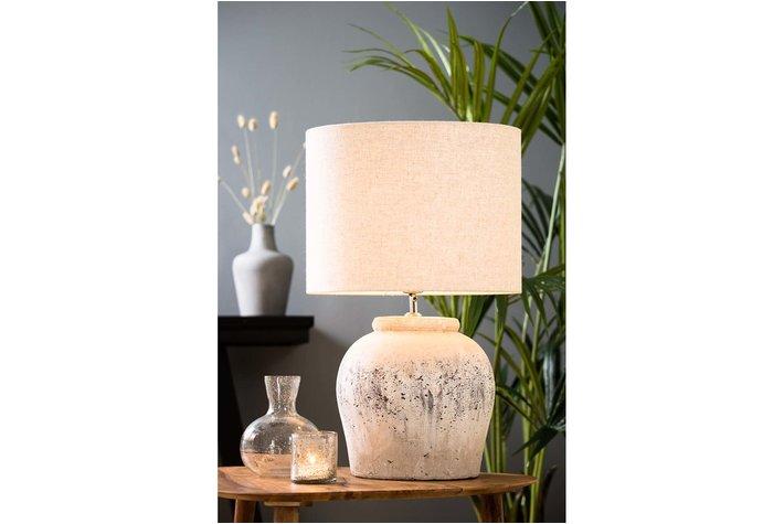 Light en Living Light & Living Kap cilinder 30-40-40 livigno naturel rond linnen