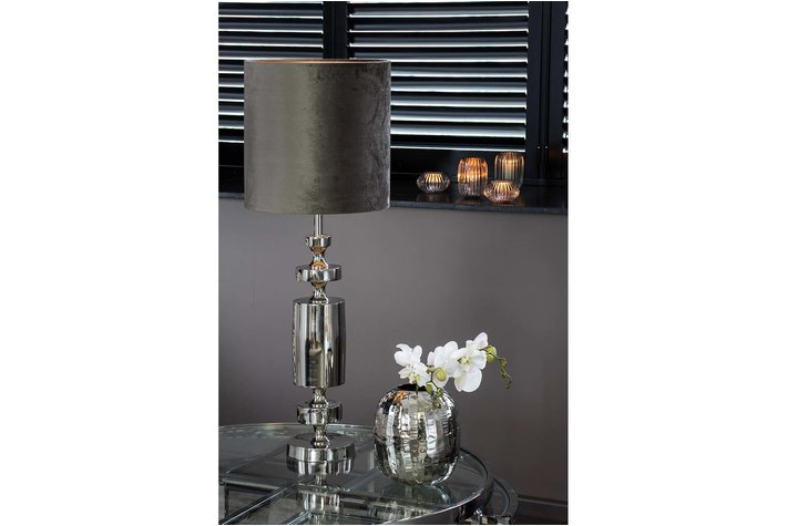 Light en Living Light & Living Kap cilinder 30-40-40 zinc taupe
