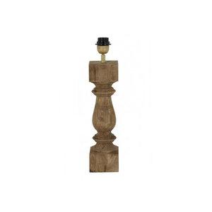 Light & Living Lampvoet 10x10x38 cm CUMANI hout weather barn