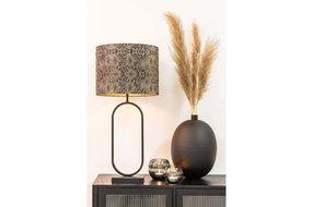 Light en Living Light & Living Lampvoet 21x13x55 cm JAMIRI mat zwar
