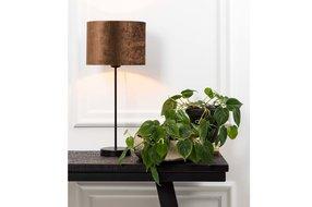 Light en Living Light & Living Lampenvoet houston mat zwart