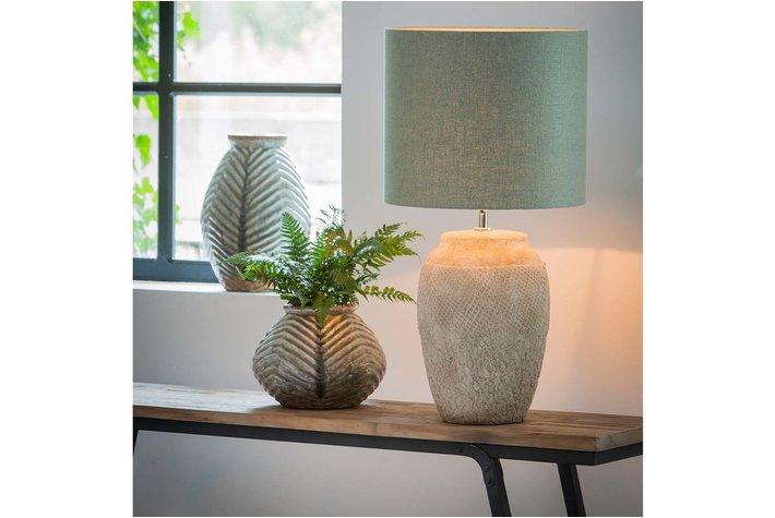 Light en Living Light & Living Lampenvoet vertas keramiek cement