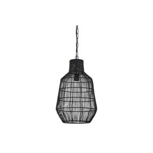 Light & Living Hanglamp Ø34x55 cm HAISEY mat zwart