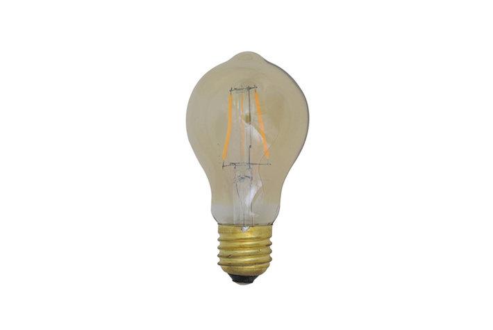 Light en Living Light & Living LED kogel Ø6x11 cm LIGHT 3W amber E27