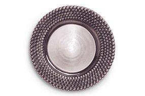 Mateus Servies Mateus Bubble round platter 42cm plum