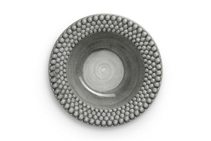 Mateus Servies Mateus Bubble soup plate 25cm grey