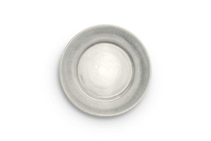 Mateus Servies Mateus round plate 25cm grey