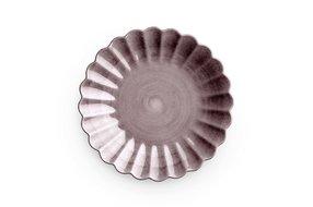Mateus Servies Mateus Oyster plate 20cm plum