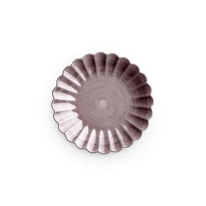 Mateus Oyster plate 20cm plum