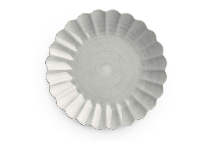 Mateus Servies Mateus Oyster plate 28cm grey