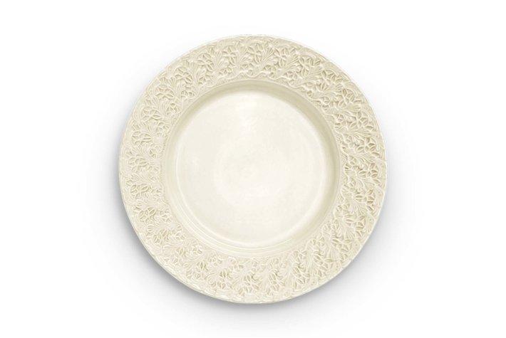 Mateus Servies Mateus Lace plate 32cm sand