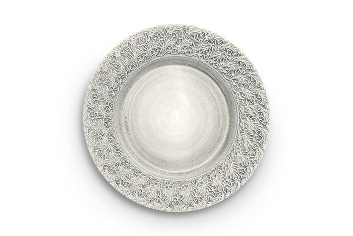 Mateus Servies Mateus Lace plate 32cm grey