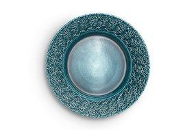 Mateus Servies Mateus Lace plate 32cm ocean