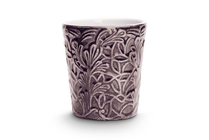 Mateus Servies Mateus Lace mug 10cm plum