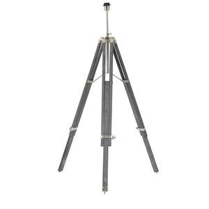 Light & Living Vloerlamp driepoot 86,5-160 cm MATISSE antiek grijs