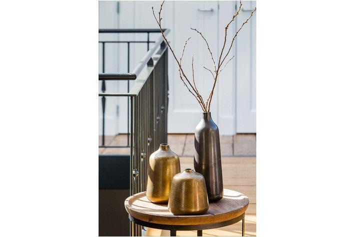 Light en Living Light & Living Salontafel S/2 Ø43x35+Ø53x45 cm MACHALA hout-zwart