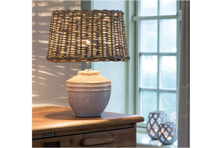 Light en Living Light & Living Kruiklamp toba  S antiek wit
