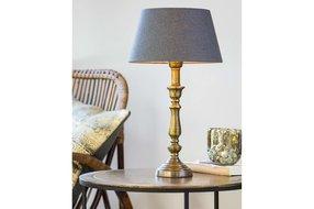 Light en Living Light & Living Lampenvoet helga  M ruw antiek brons