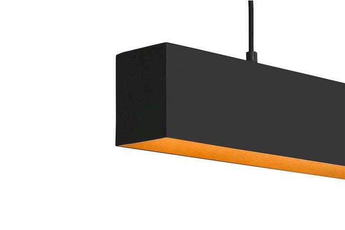 Frezoli Lighting by Tierlantijn Frezoli hanglamp Simfano Mat Zwart L.226.3.600