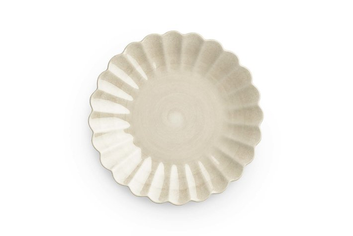 Mateus Servies Mateus Oyster plate 20cm sand