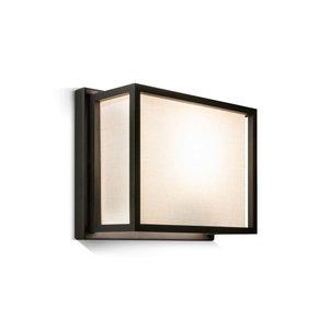 Frezoli wandlamp Hogenas Mat zwart L.206.1.600