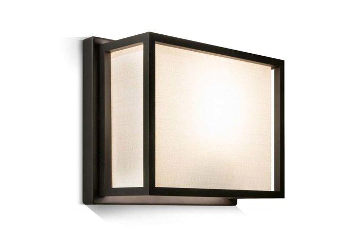 Frezoli Lighting by Tierlantijn Frezoli wandlamp Hogenas Mat zwart L.206.1.600
