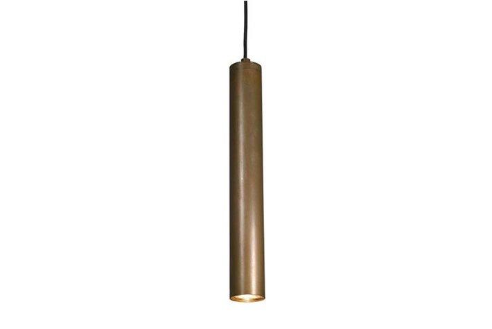 Frezoli Lighting by Tierlantijn Frezoli hanglamp Tubino 1 Buis Koper L.222.1.670