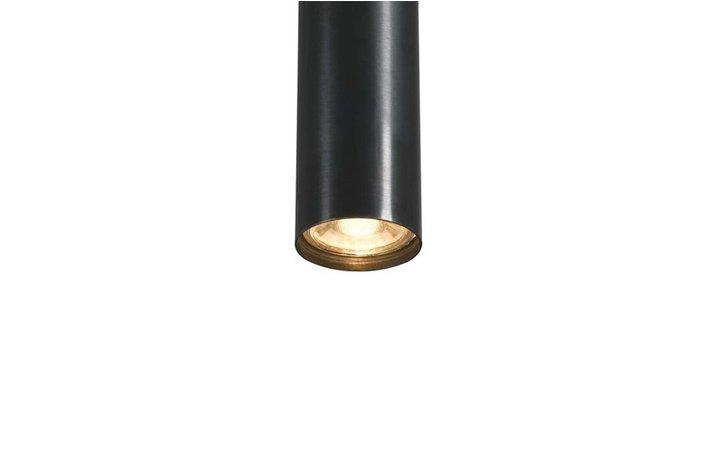 Frezoli Tubino 5 Buizen Hanglampen Donkerbruin Zwart Finish L.223.1.150