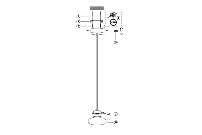 Frezoli Lighting by Tierlantijn Frezoli hanglamp Vetroso 1 flat Mat zwart L.303.1.600