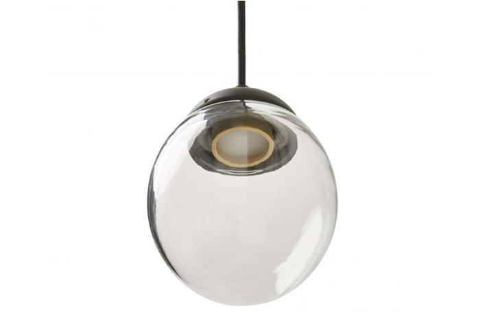 Frezoli Lighting by Tierlantijn Frezoli hanglamp Vetroso 1 Round Mat Zwart L.302.1.600