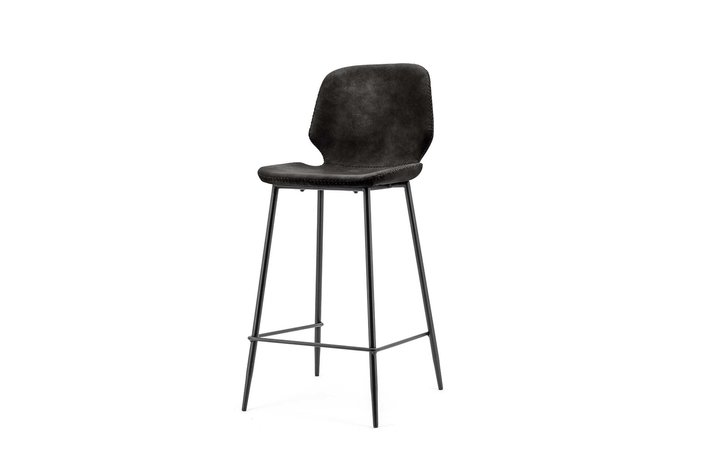 By-boo By Boo Bar chair Seashell low - black