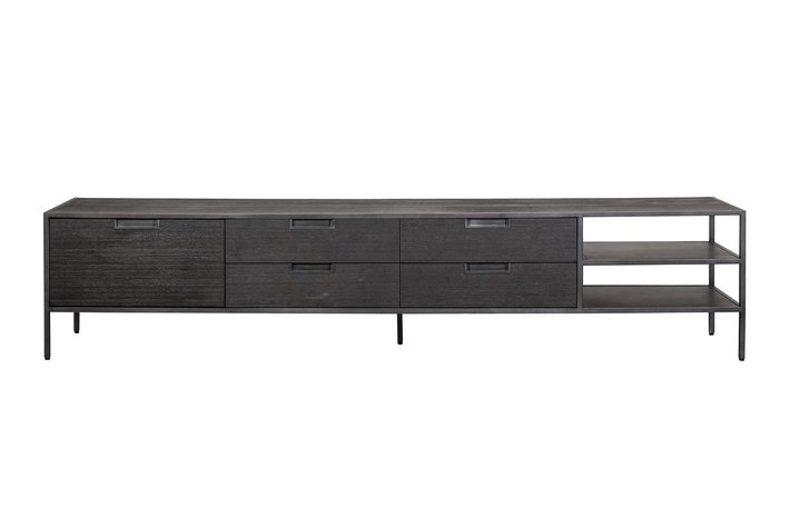 Eleonora Eleonora Madison dark - TV meubel 210 cm