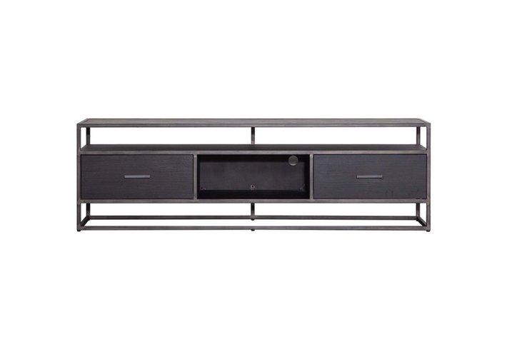 Eleonora Eleonora TV meubel Hudson 185cm zwart