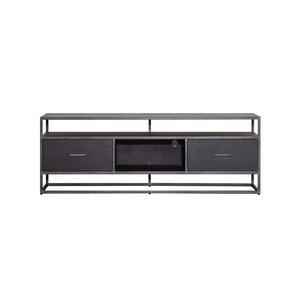 Eleonora TV meubel Hudson 150 cm zwart
