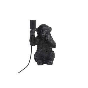Light & Living Tafellamp 19,5x20x34 cm MONKEY zwart