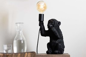 Light en Living Light & Living Tafellamp 19,5x20x34 cm MONKEY zwart