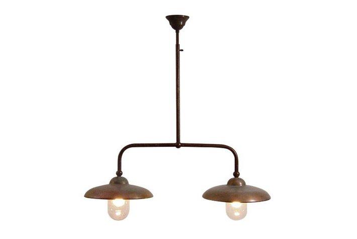 Frezoli Lighting by Tierlantijn Frezoli hanglamp Figirola Bruin patina L.105.9.000