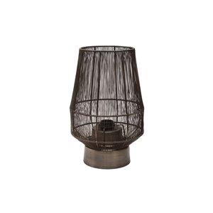 PTMD Zezz Brass wire round standing lamp belly
