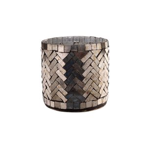PTMD Aleksi Copper glass mosaic stormlight round M