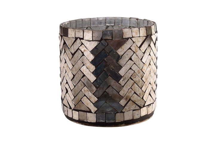 PTMD PTMD Aleksi Copper glass mosaic stormlight round M