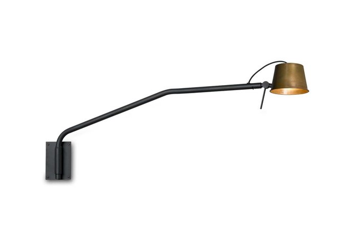Frezoli Lighting by Tierlantijn Frezoli Pliz wandlamp Mat zwart L.215.1.670