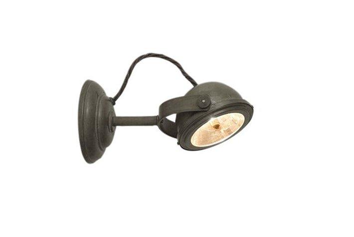 Frezoli Lighting by Tierlantijn Frezoli wandspot Lupia LED Mat zwart L.152.1.600