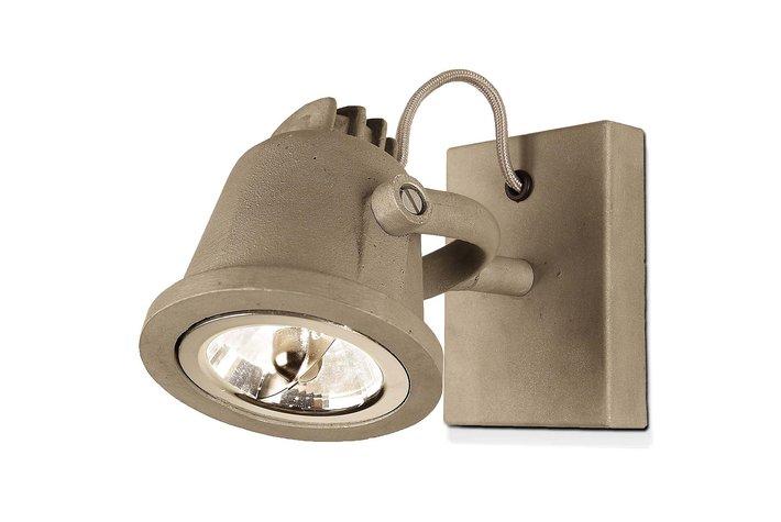 Frezoli Lighting by Tierlantijn Frezoli wandspot Dos Aluminium L.823.1.800