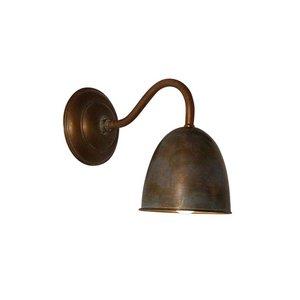 Frezoli wandlamp Pygona Bruin patina L.108.9.000