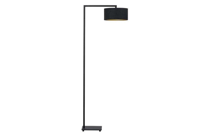 Frezoli Lighting by Tierlantijn Frezoli vloerlamp Herzo Mat zwart L.217.9.600