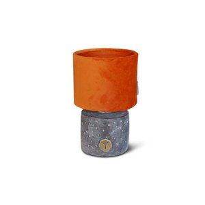 Brynxz lamp round ind. vintage D.12 H.20