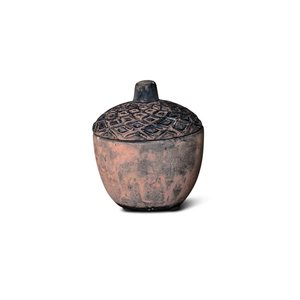 Brynxz acorn candlecup touch of brown D.10 H.12
