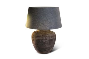 Brynxz lamp two lines with rope old brown D.35 H.33