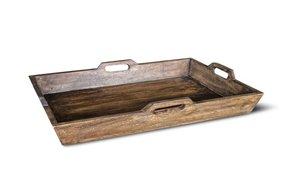 Brynxz wooden tray M 47x30x10
