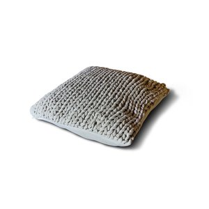 Brynxz knitted cushion pistache green 45 x45 cm (100% cotton)